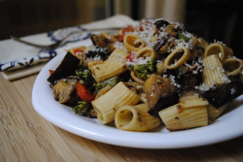 Eggplant & Broccolini Pasta Salad | Eggplant Pasta, Eggplants and ...
