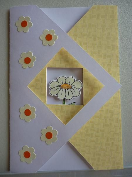 tri fold card instructions