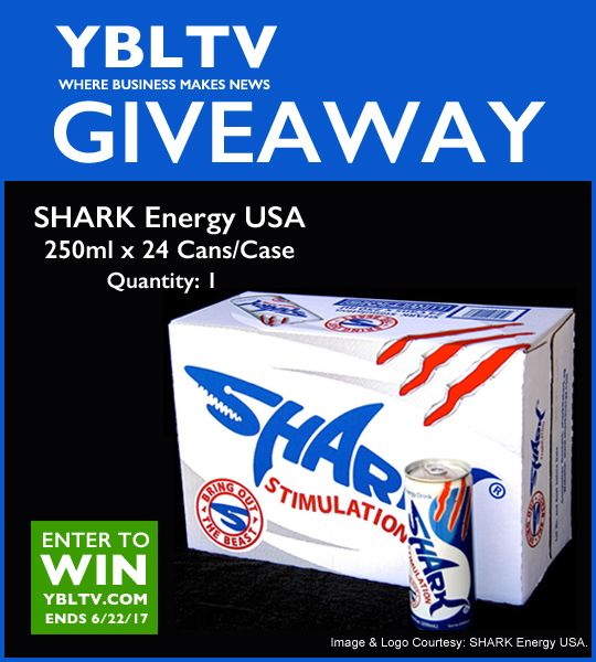 SHARK Energy Drink 24 Pack Giveaway