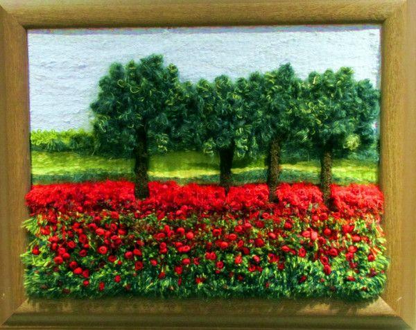 Volume tapestry landscape