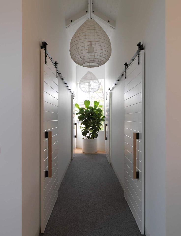 Interiors | alwill  #hallway #slidingdoor #pendant