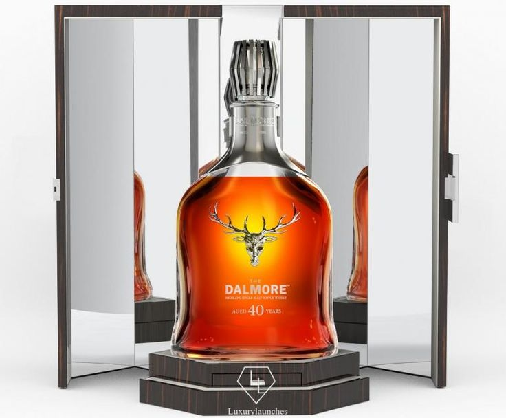 A not so new single malt - The Dalmore releases a 40 year old whiskey -
