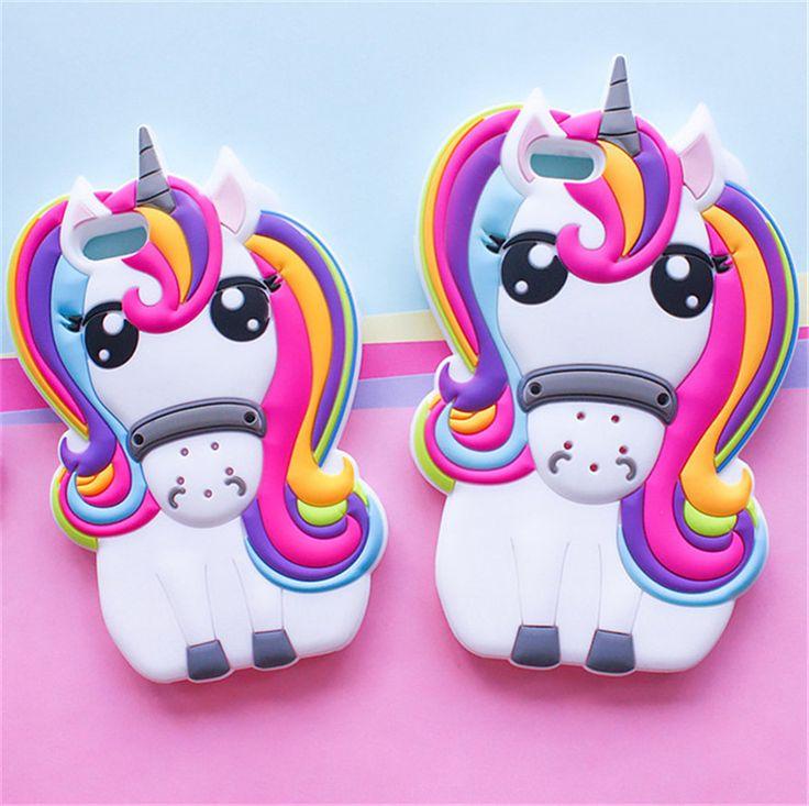 Kawaii Unicorn iPhone Case