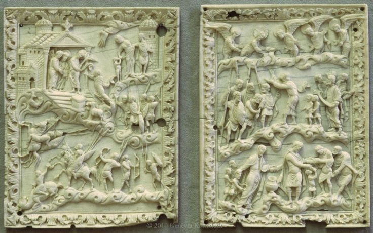 Ivory Book Cover of Charles the Bald, c.860
