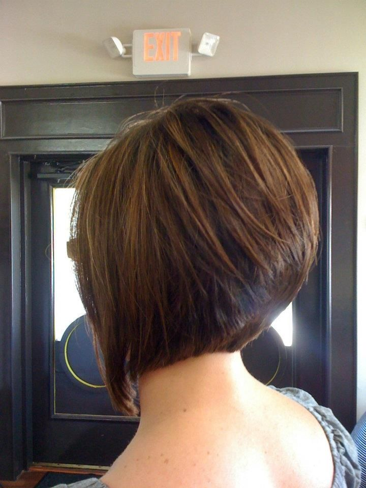 angled stacked bob cut Lex Moore @ Style House Salon ...