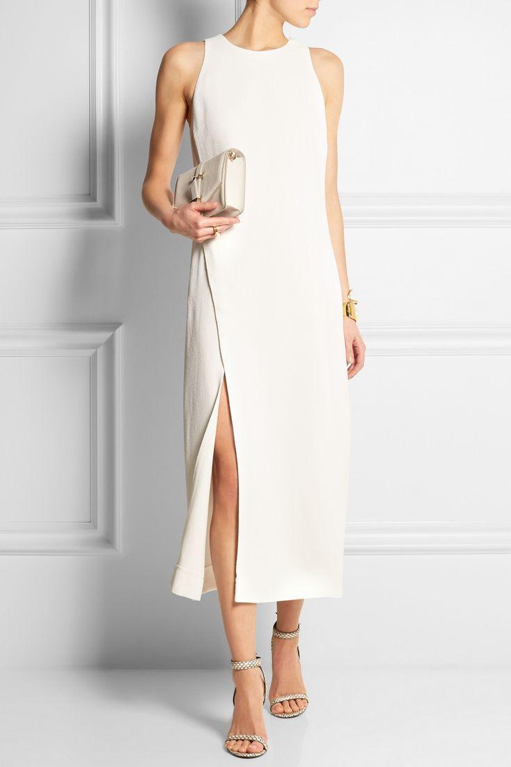 Wes Gordon|Crepe dress|NET-A-PORTER.COM