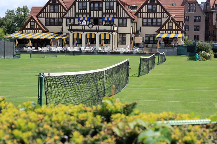 Spotlight On: Beautiful Tennis Courts | Tory Daily Photograph of the West Side Tennis Club
