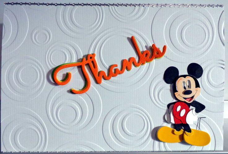 Disney Theme - Mickey - Thanks