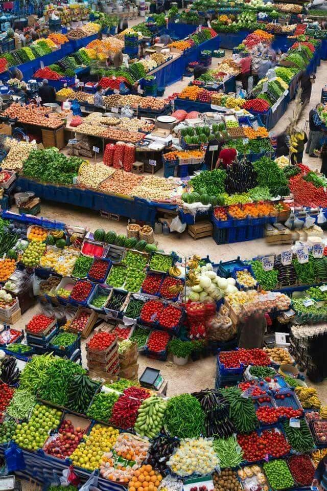 Photo de The world in pictures  Vegetables market Japan