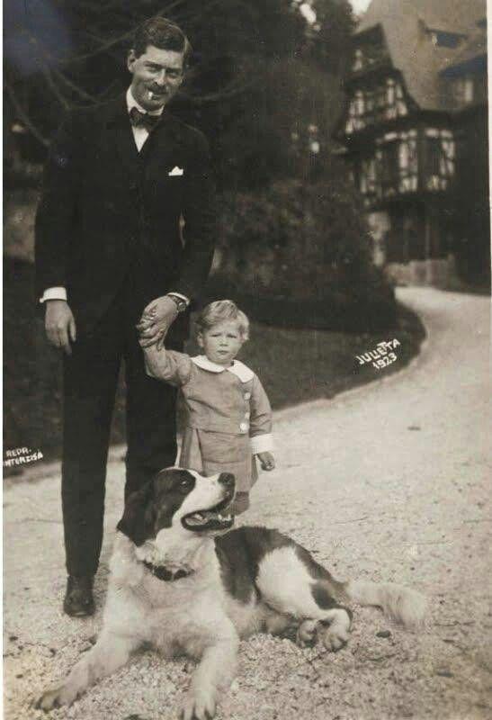 King Carol II and son Prince , later King, Michael