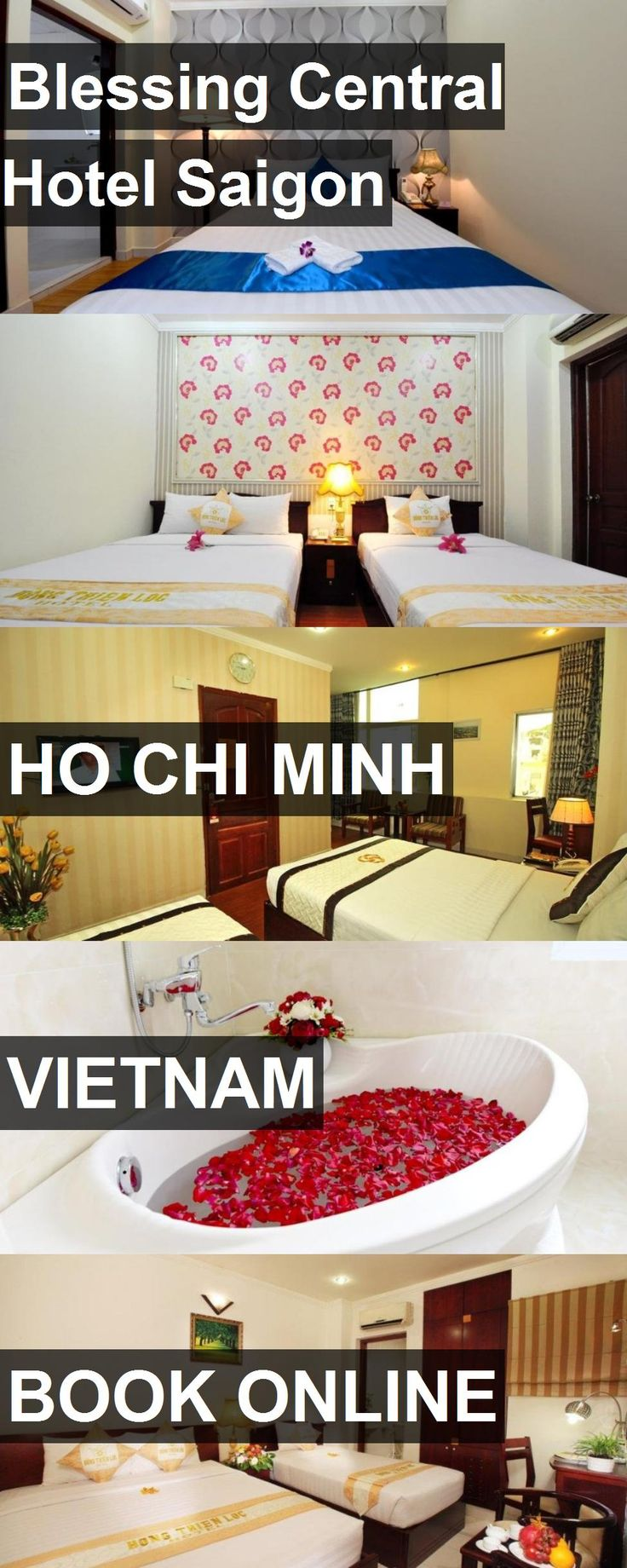 Hotel Blessing Central Hotel Saigon in Ho Chi Minh, Vietnam. For more information, photos, reviews and best prices please follow the link. #Vietnam #HoChiMinh #BlessingCentralHotelSaigon #hotel #travel #vacation