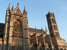 Limoges Cathedral, France - Wikipedia ~ #Gothic