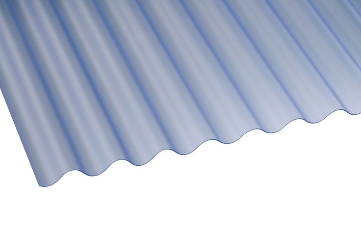 Translucent PVC Roofing Sheet 2440mm x 662mm, Pack of 10 | Departments | DIY at B&Q