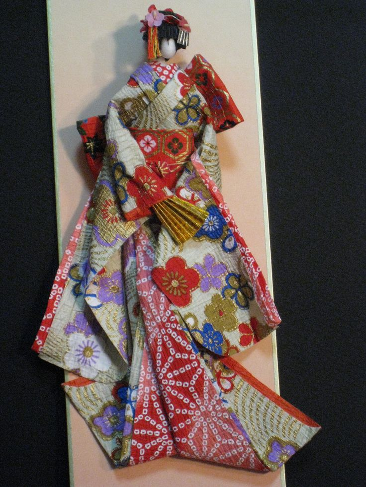 10+ images about Japanese origami paper dolls on Pinterest ...