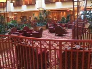 St. Charles Convention Center Hotel Lobby