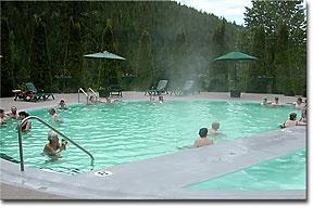 Nakusp Hot Springs B.C.