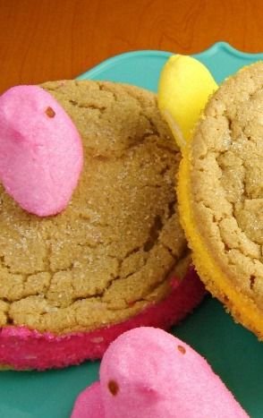 Peek A Boo PEEPS Cookies Recipe and Giveaway | In Katrina's Kitchen
