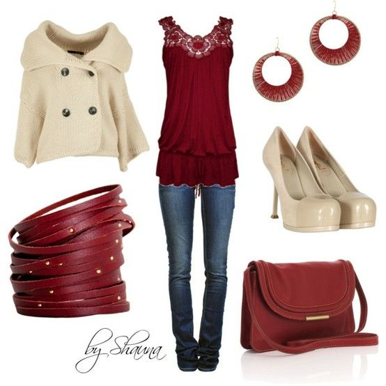 Outfit: Jacket, Outfits, Idea, Fashion, Style, Dream Closet, Color, Clothes, Red Outfit
