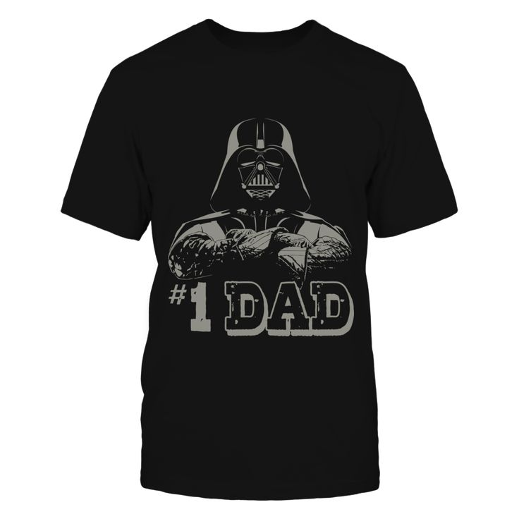 Star Wars #1 Dad Darth Vader Father Shirt