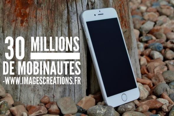 30 Millions de mobinautes en France