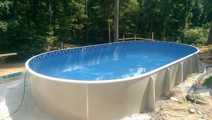 30 best images about semi inground pools on pinterest decks pools and swimming pool stores for Best semi inground swimming pools