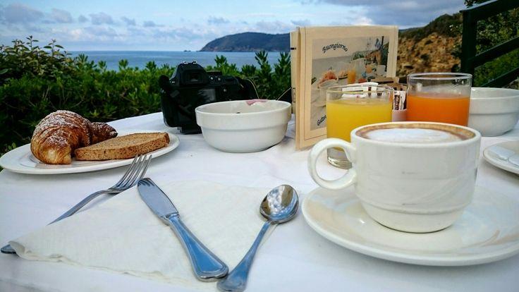 Colazione all'hotel Antares a Lido di Capoliveri Isola D