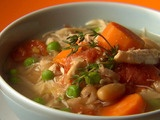 Picture of Hungry Chick Chunky Soup Recipe
