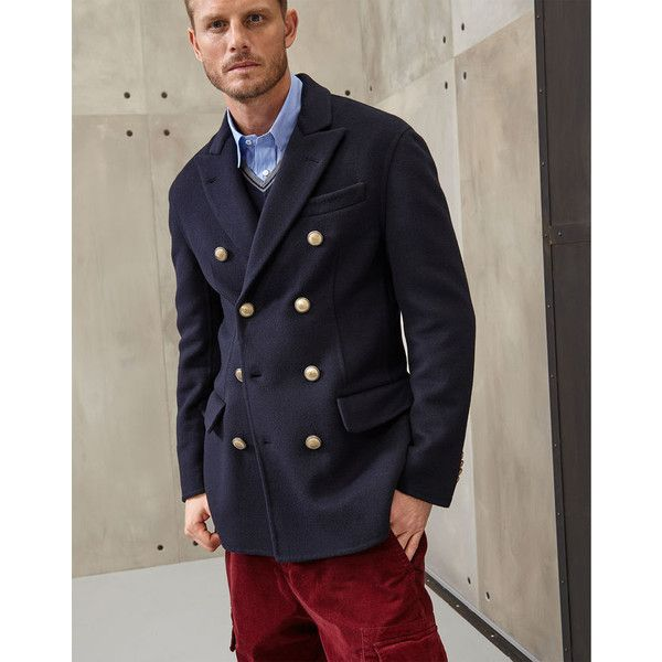 Brunello Cucinelli Outerwear Jacket (437.810 RUB) ❤ liked on Polyvore featuring men's fashion, men's clothing, men's outerwear, men's jackets, blue, mens lightweight jacket, mens light weight jackets, brunello cucinelli mens jacket and mens blue jacket
