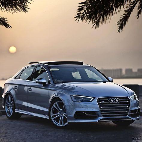 """S3xy Sunday pose. Car: 2016 @Audi S3 Sedan S-Tronic (300hp, 2.0 turbo) Performance: 0-100kmh(62mph) 4.70sec (tested), 5.0sec (official) Color: Floret…"""