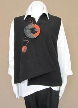 Interesting vest and surface design