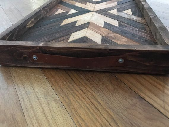 Navajo Aztec Native Boho Southwestern Serving by KnotAndSteelCo
