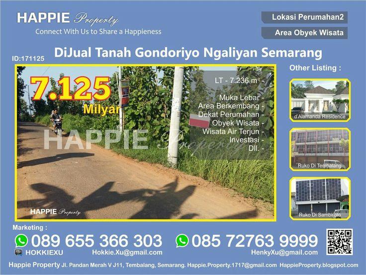 Tanah Dijual Di Gondoriyo Ngaliyan Semarang  Minat Hub : Hokkie Xu - 089 655 366 303 Available on WhatsApp Pin BBM - HOKKIEXU David Henky - 085 72763 9999 Available on WhatsApp