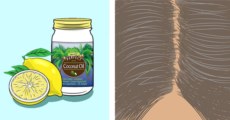 Coconut Oil and Lemon Combination: It Turns Grey Hair Again To Its Pure Coloration