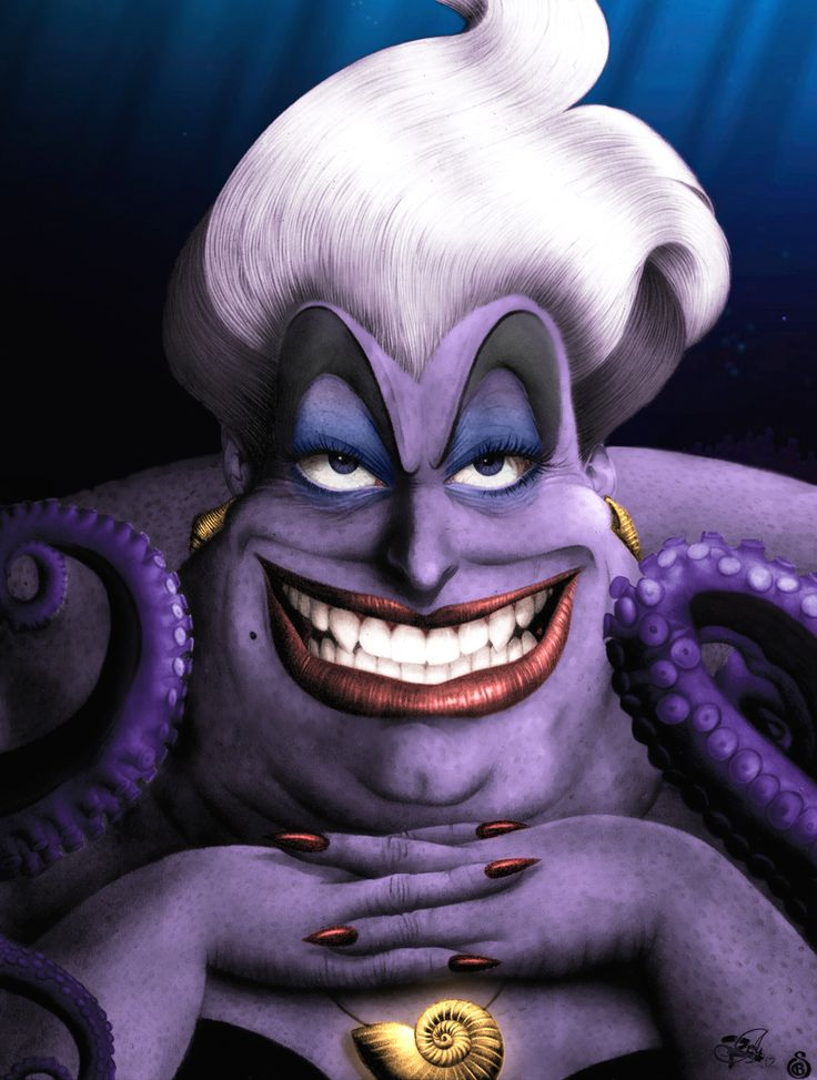 Ursula by Lord-Mo.deviantart.com on @deviantART | Ariel Grotto ...