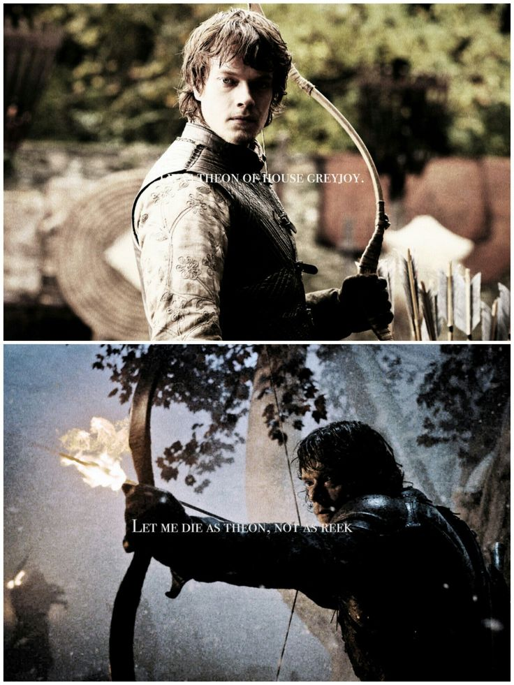I was a ward of Eddard Stark. A friend & brother to his children. #theon greyjoy#game of thrones