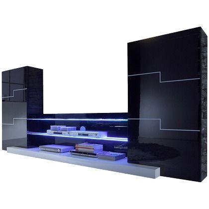 Coole Wohnwand Mit Beleuchtung Ab 52999 EUR 3 Hier Kaufen