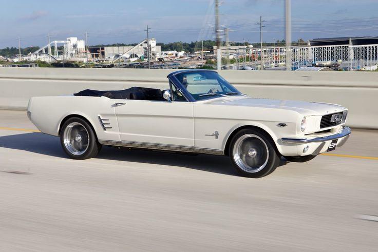 Revology 1966 Mustang Convertible In Wimbledon White Mustang Convertible Ford Mustang Convertible 1966 Ford Mustang