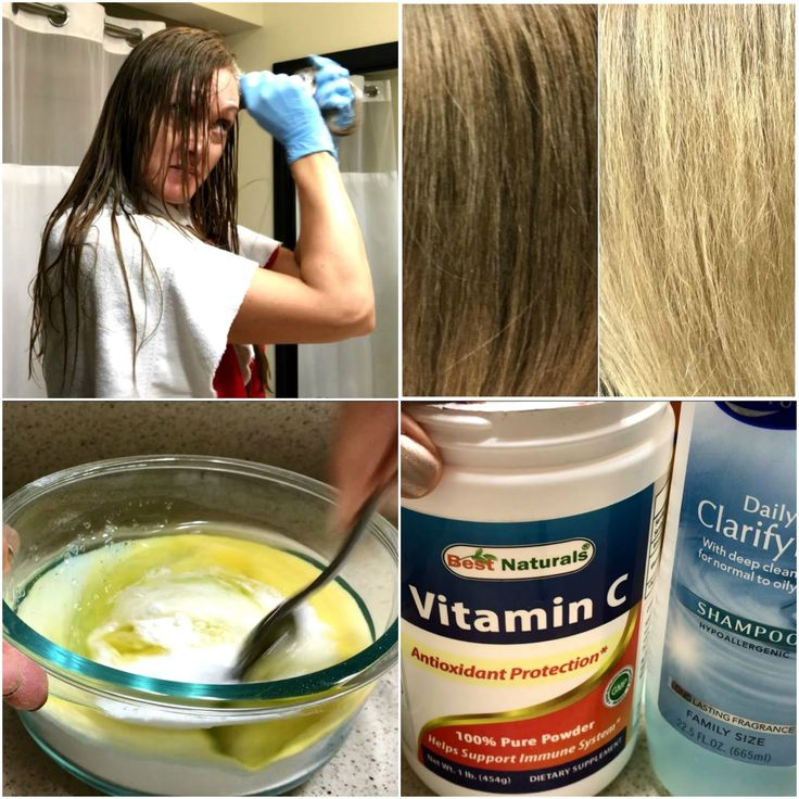 DIY At Home NATURAL HAIR LIGHTENING & COLOR REMOVAL