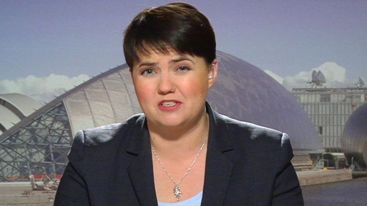 Scottish Conservative leader Ruth Davidson says the SNP'S referendum call does not reflect the will of the Scottish people.