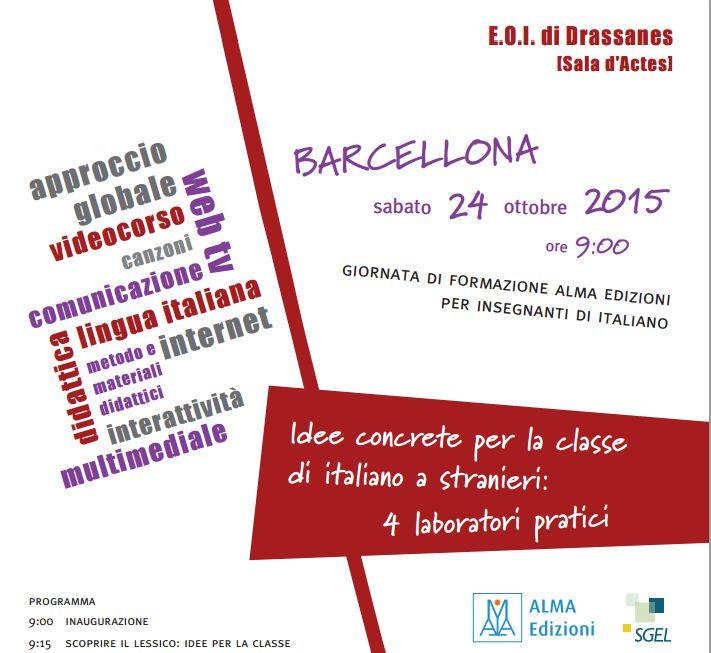 Giornata di formazione ALMA edizioni a Barcellona