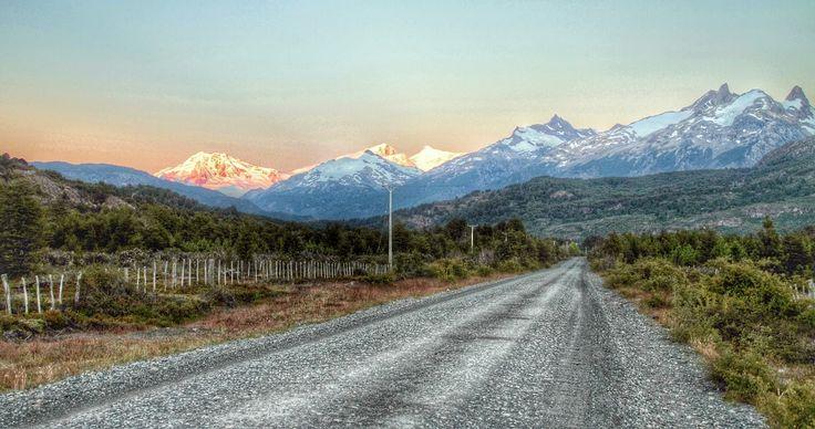 HDR Travel Pictures: Amanece en la carretera austral