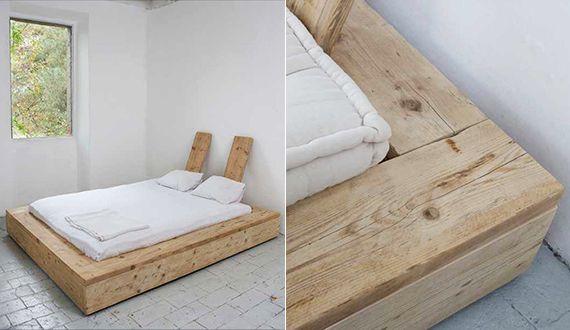 Bett-selber-bauen-für-ein-individuelles-Schlafzimmer-Design_diy-bett-aus-massivholz