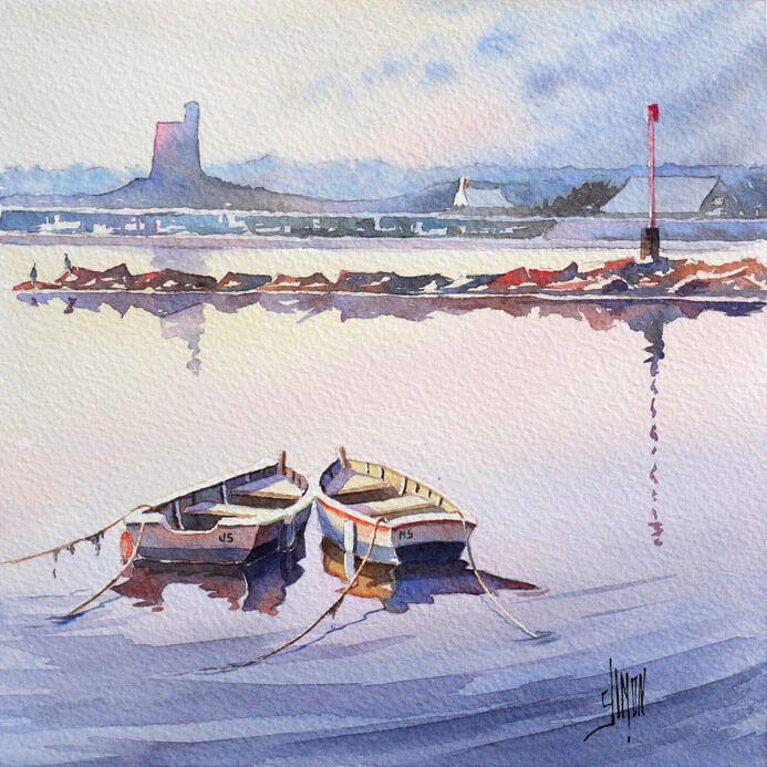 Aquarelle Bateaux 753 Best Images About Coastal Boat Canvas On