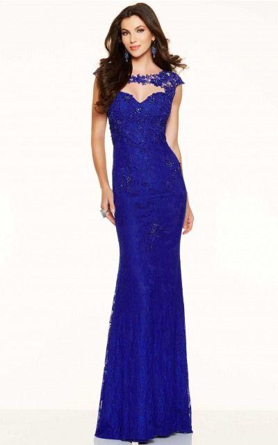 Sheath Jewel,Sweetheart Empire Cap Sleeves Floor-length Prom Dresses