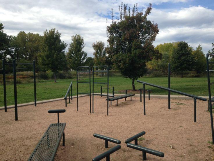 Backyard Par Course Backyard Fitness Trail Bar Table