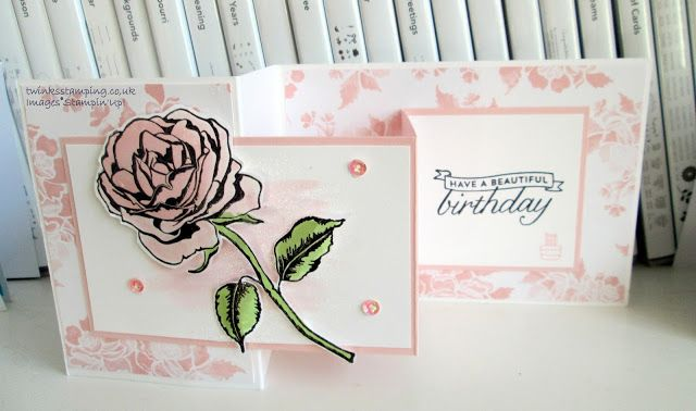 Twinks Stamping | Stampin' Up! Demonstrator: Graceful Garden rose