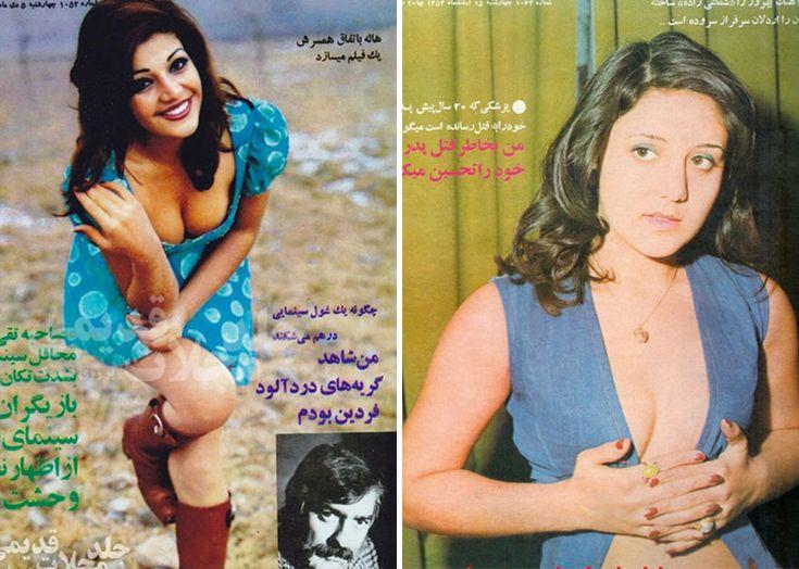 Les tenues de la femme iranienne des années 70 dans les magasines d'époque - http://www.2tout2rien.fr/les-tenues-de-la-femme-iranienne-des-annees-70-dans-les-magasines-depoque/