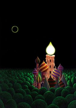 Mike Wilks: Eclipse Holiday Cards