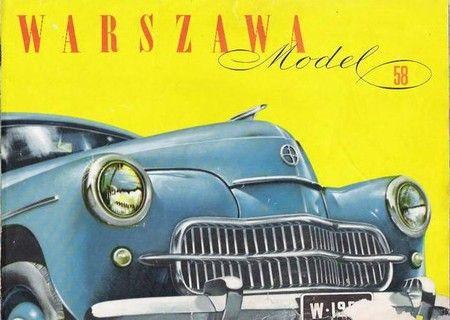 Warszawa car brochure  ⇆ 1,5´|   https://de.pinterest.com/pin/393924298636974687/