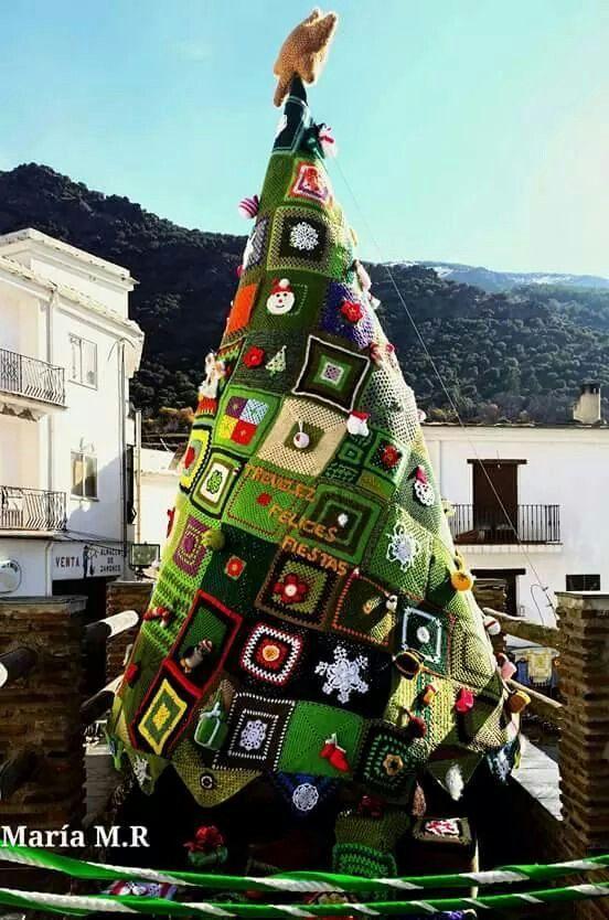 Trevelez árbol del pueblo